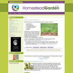 HomesteadGarden - Home