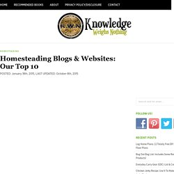Homesteading Blogs & Websites: Our Top 10