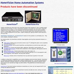 HomeVision Home Automation Controller