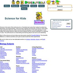 Homework Help: Science for Kids