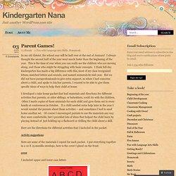 Kindergarten Nana