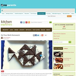 Eat Your Math Homework . Kitchen Explorers . PBS Parents