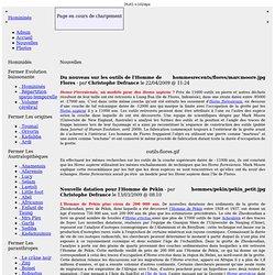 Les experts de la Préhistoire : décryptage du génome de l'Homme de Neandertal