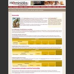 Hominoides - Premiers primates - Préhistorique