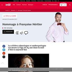 Hommage à Françoise Héritier