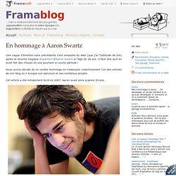 En hommage à Aaron Swartz