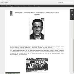 Fondateur journaux Novembre& AlgerCeSoir