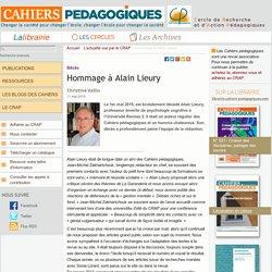 Hommage à Alain Lieury