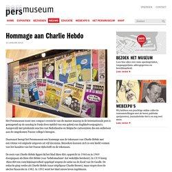 Hommage aan Charlie Hebdo - Persmuseum