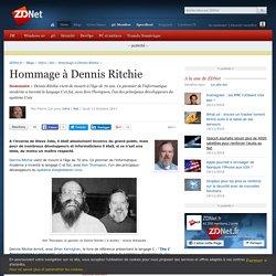 Hommage à Dennis Ritchie - ZDNet
