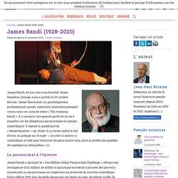 Hommage à James Randi (1928-2020) alias the Amazing Randi