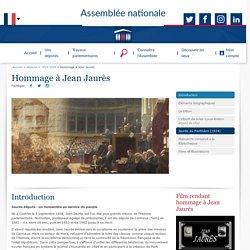 Hommage à Jean Jaurès - Histoire - 1914-1918