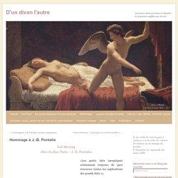 Hommage à J.-B. Pontalis (version française) - par Joel Bernat