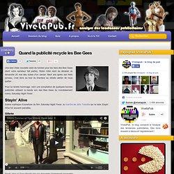 Hommage à Robin Gibb : Quand la publicité recycle les Bee Gees