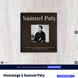 hommage à Samuel Paty by Jeanne-Cécile on Genially