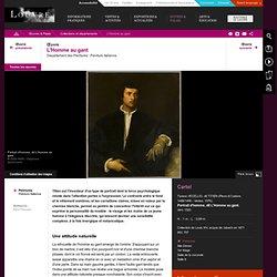 Peinture du Titien: L'Homme au gant