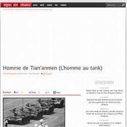Homme de Tian'anmen (L'homme au tank)