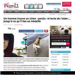 Un homme trouve un chien «perdu» et tente de l'aider… jusqu'à ce qu'il lise sa médaille - Insolite - Wamiz