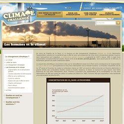 Les hommes et le climat - ClimateChallenge