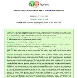 Des sous et des hommes - emission du 29 novembre 2002