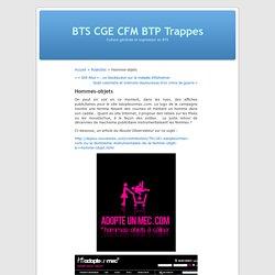 Hommes-objets « BTS CGE CFM BTP Trappes