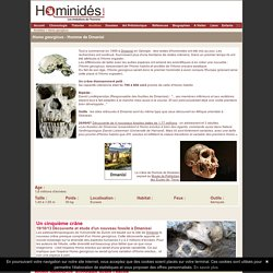 Homo Georgicus - Dmanissi
