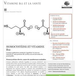 Homocystéine et Vitamine B12
