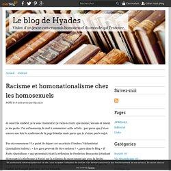 Racisme et homonationalisme chez les homosexuels - Le blog de Hyades