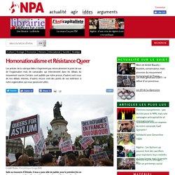 Homonationalisme et Résistance Queer