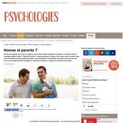 Homoparentalité : Homos et parents
