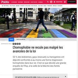 L'homophobie ne recule pas malgré les avancées de la loi par Marie Pouzadoux