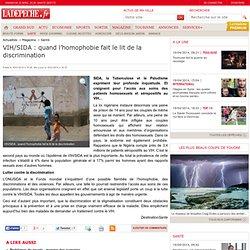 VIH/SIDA : quand l'homophobie fait le lit de la discrimination - 16/01/2014