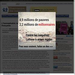 L'homophobie reste présente dans la société française
