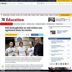 SOS homophobie se voit retirer son agrément dans les écoles