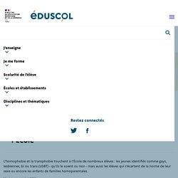 Prévenir l'homophobie et la transphobie à l'École