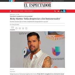 Ricky Martin homosexualidad / El Espectador