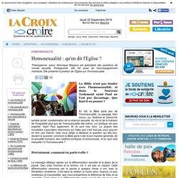 Eglise et homosexualité - Homosexuel - Vie chrétienne - Définitions - Croire.com