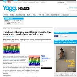 Handicap et homosexualité: une enquête lève le voile sur une double discrimination