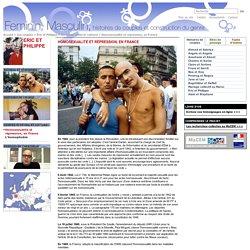 Homosexualité et répression, en France / Homosexualité et répression / Contexte social et culturel / Eric et Philippe / Les couples / Masculin Féminin - Masculin Féminin