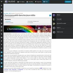 L'homosexualité dans les jeux vidéo - Millenium - Millenium : UNE
