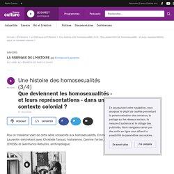 Une histoire des homosexualités (3/4) : Que deviennent les homosexualités - et leurs représentations - dans un contexte colonial ?