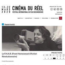 Le F.H.A.R. (Front Homosexuel d'Action Révolutionnaire) - Cinéma du réel