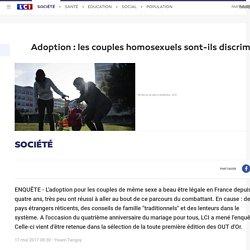 Adoption : les couples homosexuels sont-ils discriminés ?