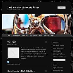 1979 Honda Cb650 Cafe Racer