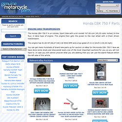 Honda CBX 750 F 2nd Hand Parts