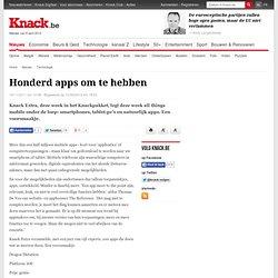 Honderd apps om te hebben - Technologie