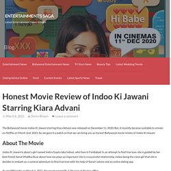 Honest Movie Review of Indoo Ki Jawani Starring Kiara Advani