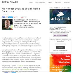 2015/08 An Honest Look at Social Media for Artists