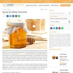 Honey for Better Immunity
