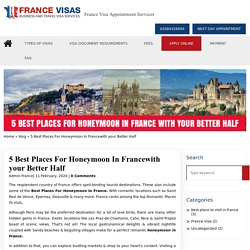 5 Best Places For Honeymoon In Francewith your Better Half